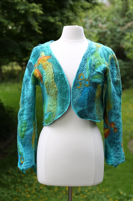 Make a jacket like this in Beverly's Rendezvous class