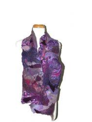 Imperial Purple Melange Scarf