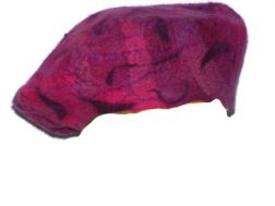 Cotton Candy Beret-Medium