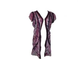 Sweet Pea Silk Vest - Small