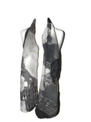 Shambolic Scarf-Greys and Black