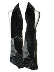 Shambolic Scarf-Black & White