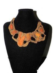 Rusty Orange Necklace