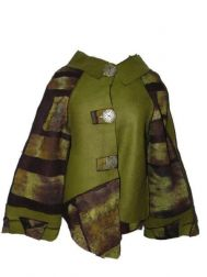 Green and Brown Dawn Jacket