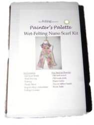 Nuno Scarf Kit - Painter's Palette