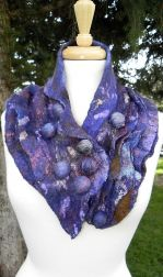 Grape Arbor Collar-One Size