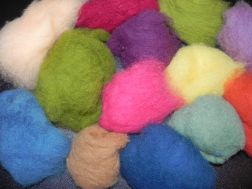 Bulk Wool - 1 lb assorted colors