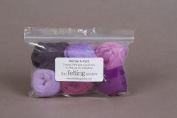 Merino 6-Packs Purple Hues