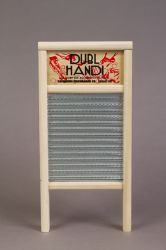 Washboard - large wood and metal